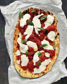 Tomato and Basil Pizza Recipe
