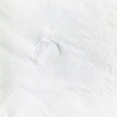 Untitled (glass on paper towel), 1997, Orit Raff