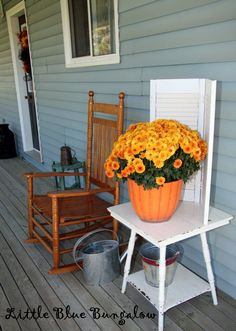 Country Fall Decor
