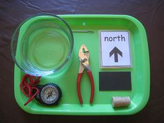 I think I need to do this with my students. proefj, science activities, compass, teach, montessori, kid
