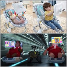Born wired: What are we doing to the next generation? The Matrix, much?    The American Academy of Pediatrics highly recommends that children under two should not be given screen time.   What kind of future do we want for ourselves and our children? Dystopian? Or Enlightened? Let's put those tablets away–at least until our children are two years old—and foster a healthy lifestyle full of proactive and interactive play, talk time.