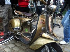 Vespa Iron Horse, από το Χρηστο Κωφιτη