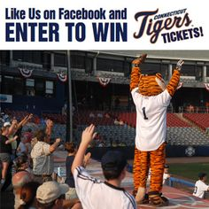 The Bulletin is giving its readers a chance to win CT Tigers baseball tickets! Contest runs until Friday, July 19th. Winners will be announced Monday, July 22nd. Click here to enter: http://contests.norwichbulletin.com/engine/YourSubmission.aspx?contestid=98699 #contest #Connecticut #Tigers #baseball #tickets #giveaway #prize