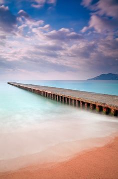 Sunrise @ Cannes La Bocca (French Riviera) by Eric Rousset, via 500px