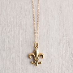 Fleur De Lis necklace