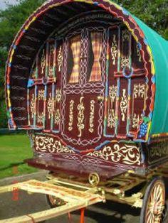 artists, vardo art, gypsi wagon, dream car, gypsi waggon, gypsi caravan