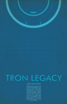 Tron Legacy Movie Poster -