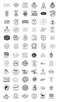 Vintage China labels