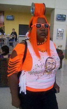 Orange Spool of Hair