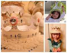 I'm making these ! Gives me an idea for a Maddhatter Tea Party with my Granddaughters.