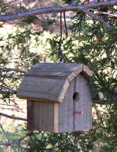Rustic Barn Wood Birdhouse