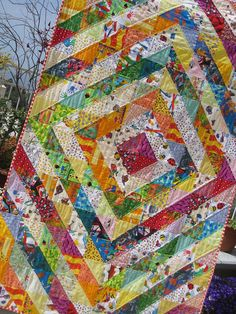triangle quilts, log cabins, kid quilts, half square triangles, colorful quilts