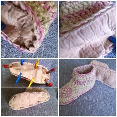 Beautiful #crochet shoes from @bethshananne