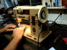 Singer 401A Sewing machine Video Part One
