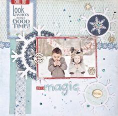 Snow Magic - Scrapbook.com