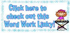 Huge list of Word Work activities - Linky Party from Rockin' Teacher Materials