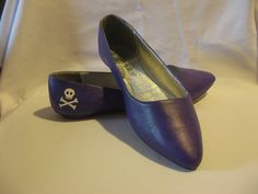 painting faux leather shoes.