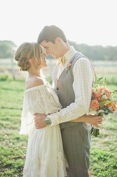 style | #BHLDNbride in the Dulcinea Gown from BHLDN | sarah mckenzie photography | via: style me pretty