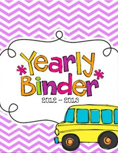 Teacher binder - Don't you just wish all of your important papers and information were in one place!