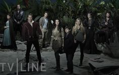 Once Upon a Time Exclusive First Look: Dark Neverland Sets Stage for Season 3 Cast Photo