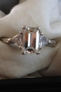 Tacori Emerald Cut Engagement Ring!