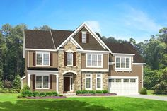 ePlans Colonial House Plan – Handsome Three Bedroom Colonial With Big Bonus! – 2226 Square Feet and 3 Bedrooms from ePlans – House Plan Code HWEPL76673