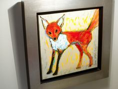 "Two fox prints add ""the right orange...whimsy and cuteness.""  http://hg.tv/vb3k"