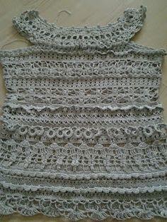 CROCHE DA ANJINHA: Vestido de croche achado na net,lindo