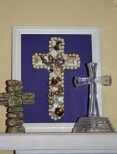 Broken Jewelry Cross