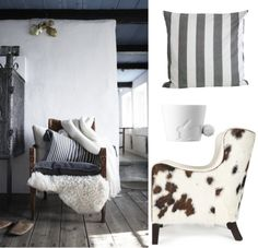 Living room armchair Marie's Corner cushion Tinek Home cup KINTO