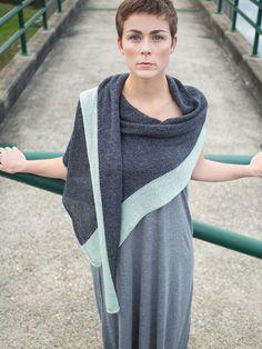 Iwo | Berroco knit idea, berroco, wrap knit, iwo knit, knitting patterns, crochet, knit shawl, yarn, knit patterns