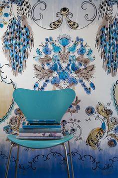 Eden wallpaper by Sixhands, in Australia.