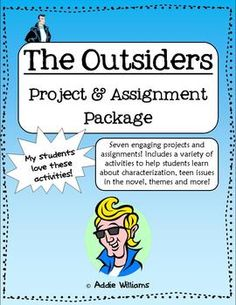 the outsiders assignments
