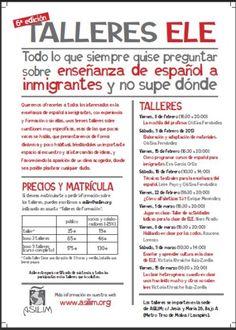 BLog, Español para inmigrantes, de España. Multidud de recursos