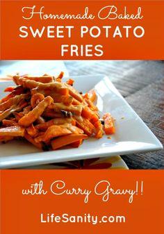Curry Sweet Potato Fries