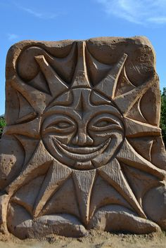 Sand sculpture festival. Riga.