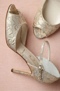 Embossed shoes!