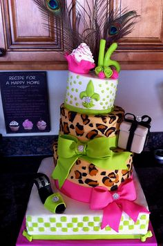 Sweet 16 cake,this is one of my faves that I have made !
