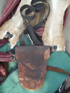 Hunting pouch / shooting bag by LibertyForge on Etsy