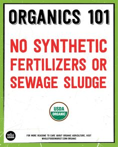 How much for know about the National Organics Standards? Click for more fast facts!