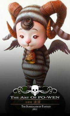 Fantasy | Whimsical | Strange | Mythical | Creative | Creatures | Dolls | Sculptures | The Art Of PO-WEN