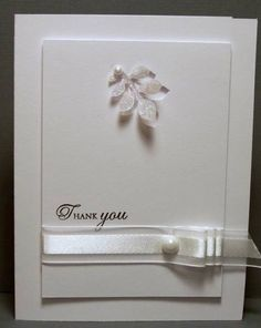 Chic and Elegant White by Miss Minx - Cards and Paper Crafts at Splitcoaststampers