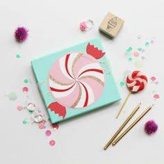 Candy Greetings  Image Via: Eat Drink Chic
