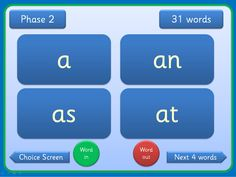 A set of PPts covering 300 high frequency words in order. There are 3 versions of each presentation - Sassoon Ppts have an embedded font but the Comic Sans version is editable if required. On the first presentation the words are grouped by Phase (2 to 5) and are in groups of 20 on subsequent presentations. Words are displayed on clear flashcards which can be viewed individually or in groups. Suitable for small groups and individual children in addition to whole class teaching. Word list included