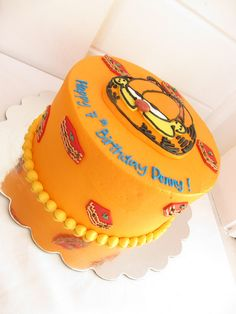 Garfield cake