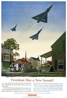 Freedom sounds like fighter-jets