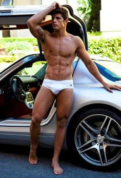 Edilson Nascimento © DIDIO modelsbydidio.com # torso six pack abs pecs armpits bare chest briefs speedo hot guy male fitness model muscle eye candy
