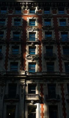 NYC building in shadow