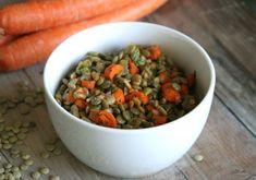 Roasted Carrot & Lentil Salad