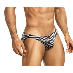 (VUTHY 442 BIKINI ZEBRA MESH EROTIC WEAR - BLACK-SILVER) The Vuthy Zebra EroticWear Bikini is ideal for the guy who lives on the exotic side! Low rise and lean cut, this bikini-style EroticWear shows off a nice amount of skin and still provides moderate rear coverage. Ideal for any occasion where the clothes come off and the sun shines down.